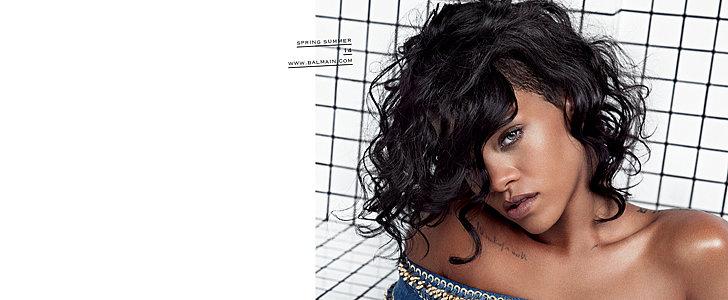 Rihanna Goes on the Campaign Trail For Balmain