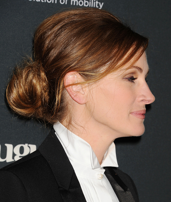 Julia Roberts Hair at August: Osage County Premiere ...