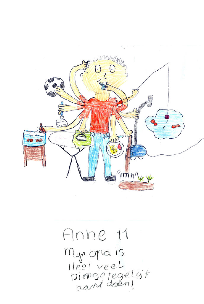 See How Kids' Drawings of Their Grandparents Come to Life!