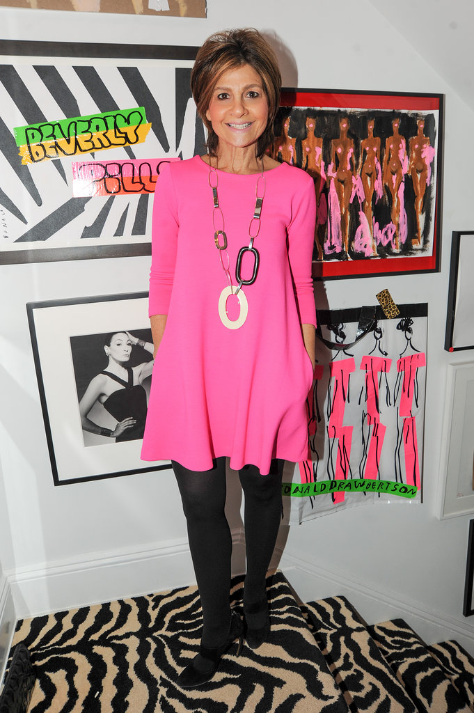Lisa Perry at John Demsey Presents Donald Drawbertson.