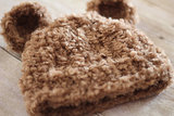 PropShop Fuzzy Crochet Hat