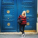 Nicky Hilton kicked it in Paris. Source: Instagram user nickyhilton