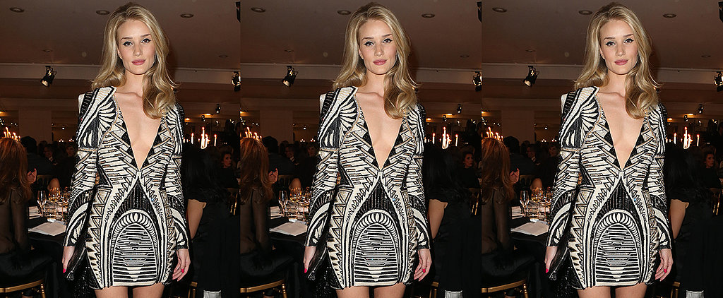 Is This Too Much Cleavage For Dinner, Even For a Supermodel?