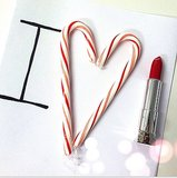 Nothing spreads holiday cheer like a great red lip. Source: Instagram user maybelline