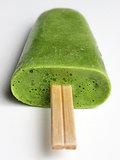 Avocado Green Tea Popsicle