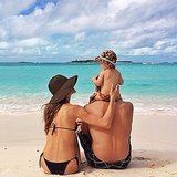 In November, Gisele Bündchen shared a snap of her sweet family while on vacation. Source: Instagram user giselofficial
