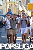 Neil Patrick Harris and David Burtka took their twins on vacation in St.-Tropez back in August.