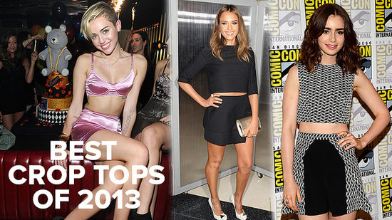 The Sexiest Crop Tops of 2013