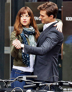 Dakota Johnson And New Dad Jamie Dornan Dance on Fifty Shades of Grey Set: Pic
