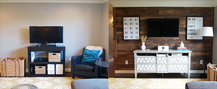 Create a Cozy Wood Wall (For $20!)