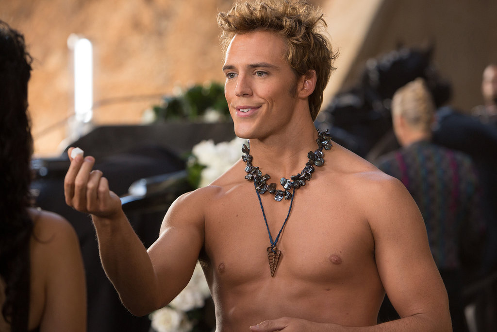 Finnick in The Hunger Games: Catching Fire