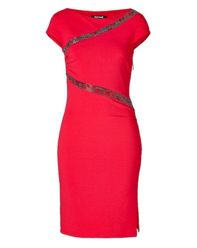Beaded Jersey Dress