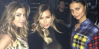 Kim Kardashian Looks Ultra-Glam In Sheer Dress