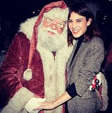 Santa must have told Alexa Chung she was good this year. Source: Instagram user chungalexa
