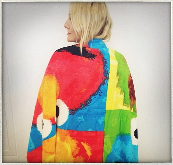 Laura Brown cozied up with the gang from Sesame Street. Source: Instagram user laurabrown99