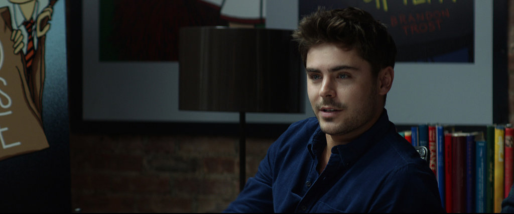 Yes, Efron looks good from every angle, ladies.