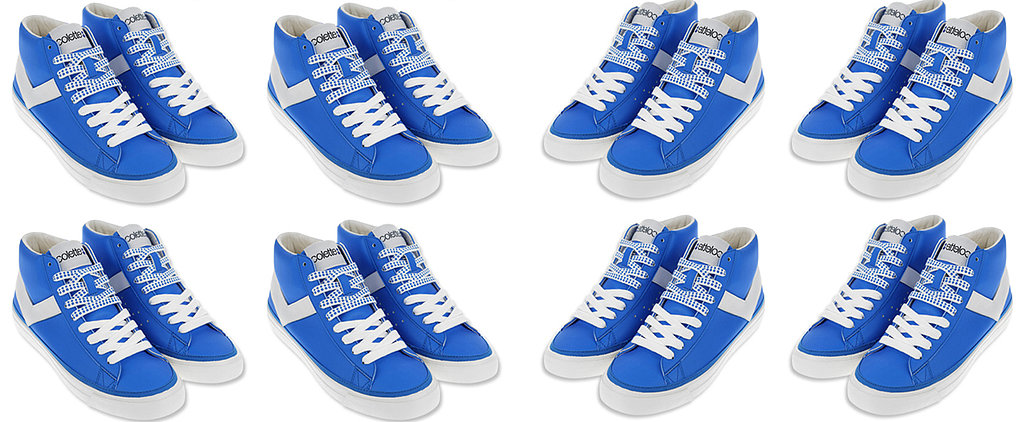 The Sapphire-Blue Sneakers We're Loving