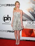 Bosworth sparkled in a Fendi dress at the Las Vegas premiere of Homefront.