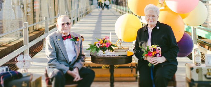 This Elderly Couple's Anniversary Shoot Will Make You Smile