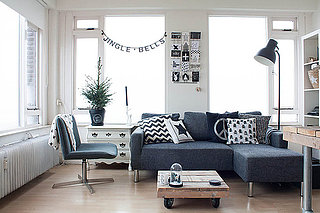 My Houzz: Black and White Make a Dutch Apartment All Right (17 photos)
