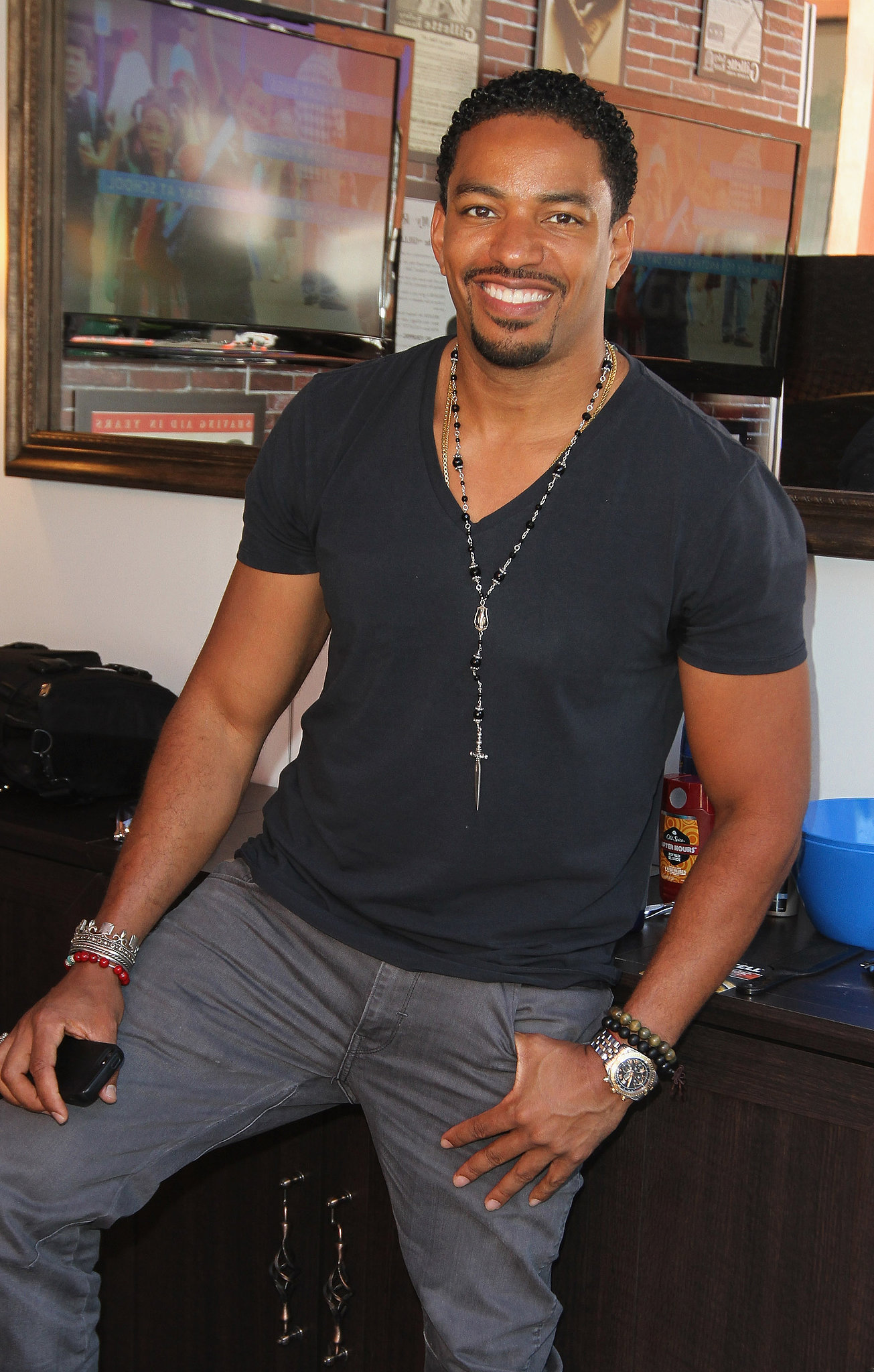 laz alonso best of 2013 the fittest men in