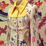 Miu Miu's Flowery Overcoat