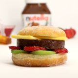 Nutella Burger Recipe | Video