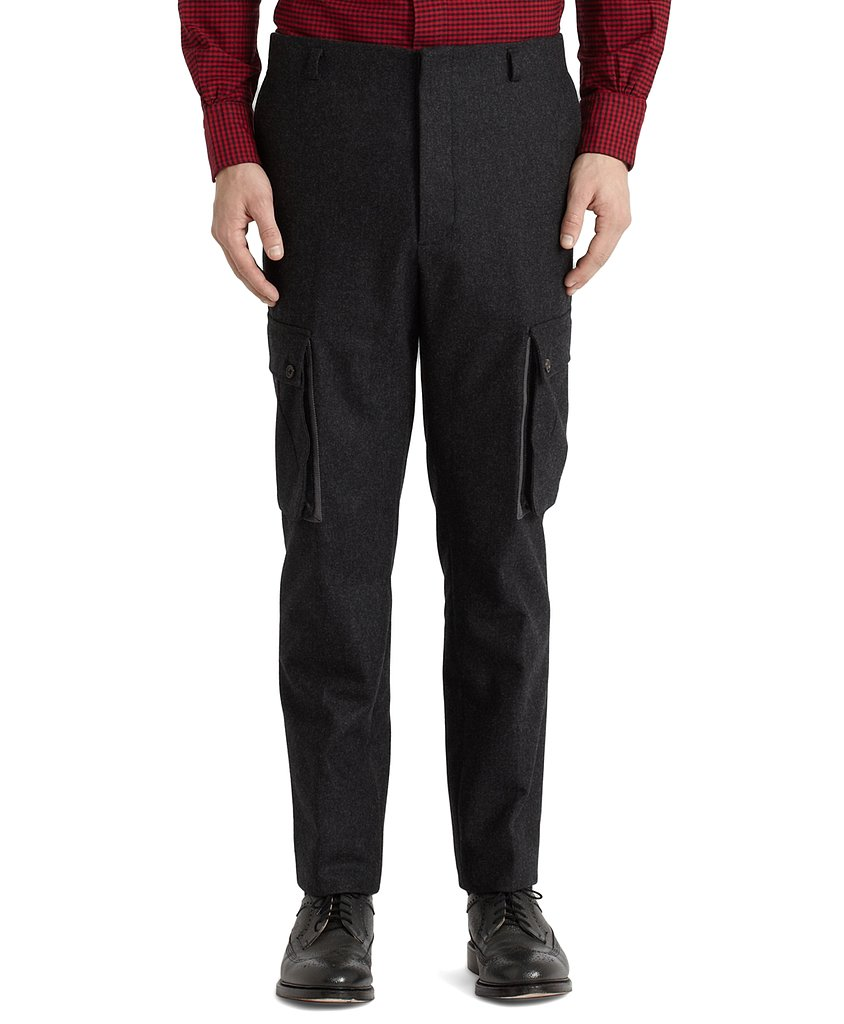 Brooks Brothers Flannel Cargo Pants ($198, originally $495)