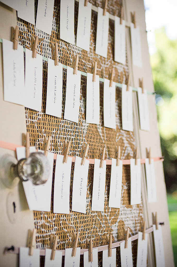 The Best Display of Escort Cards