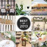 The Most Pinnable Weddings of 2013