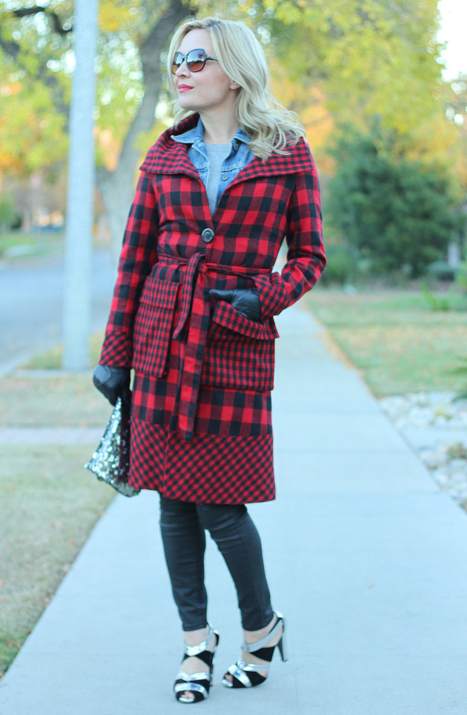 Congrats, huntercollector! We're in love with your buffalo plaid coat.