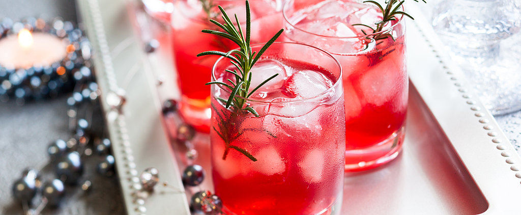 Toast Your Holiday Health With a Pomegranate-Rosemary Martini