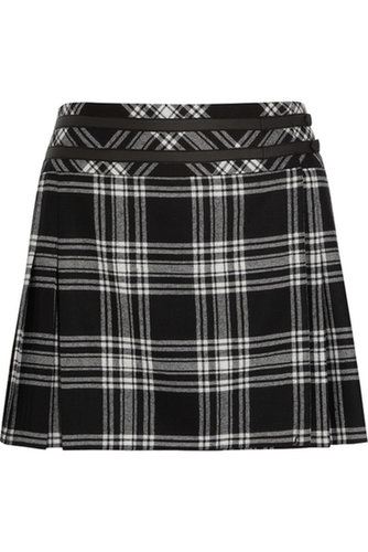 Karl Lagerfeld | Veronica tartan wool mini skirt