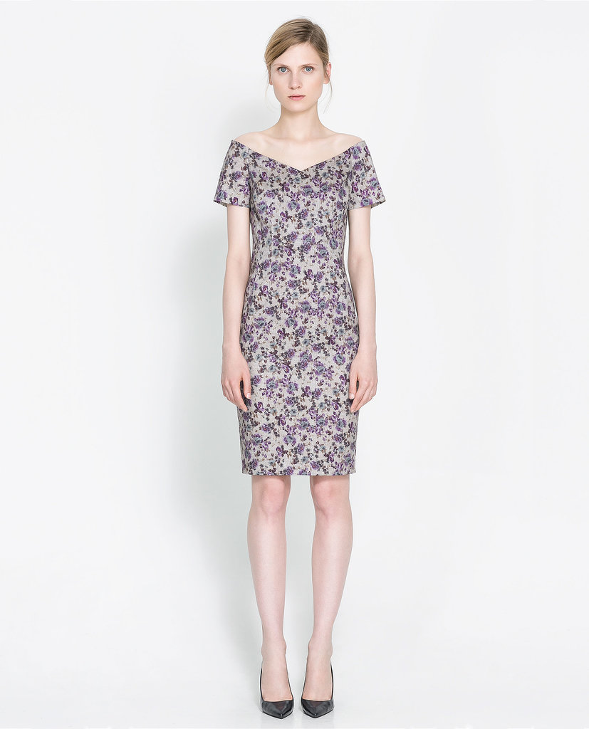 Zara Boat Neck Printed Dress ($60, originally $80)