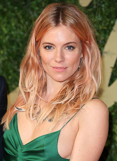 13. Sienna Miller: Blond to Pink