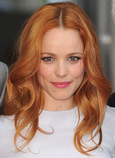 2. Rachel McAdams: Blond to Red