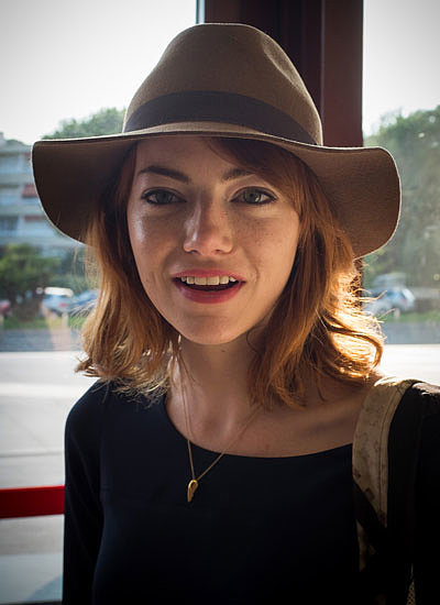 6. Emma Stone: Blond to Red