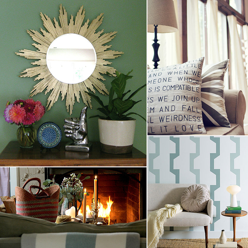 24 Quick and Easy Living Room DIYs