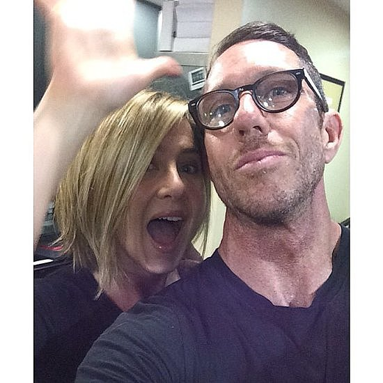Jennifer Aniston unveiled her new bob on Instagram with the help of her longtime stylist and good friend Chris McMillan.  Source: Instagram user mrchrismcmillan
