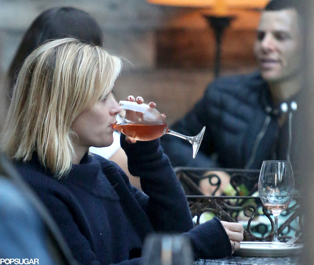 Reese Witherspoon sipped rosé at lunch in LA.