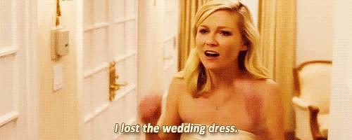 Don't Lose the Wedding Dress