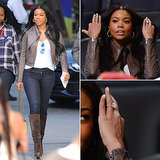 Gabrielle Union's Rock Makes It Hard to Watch the Game