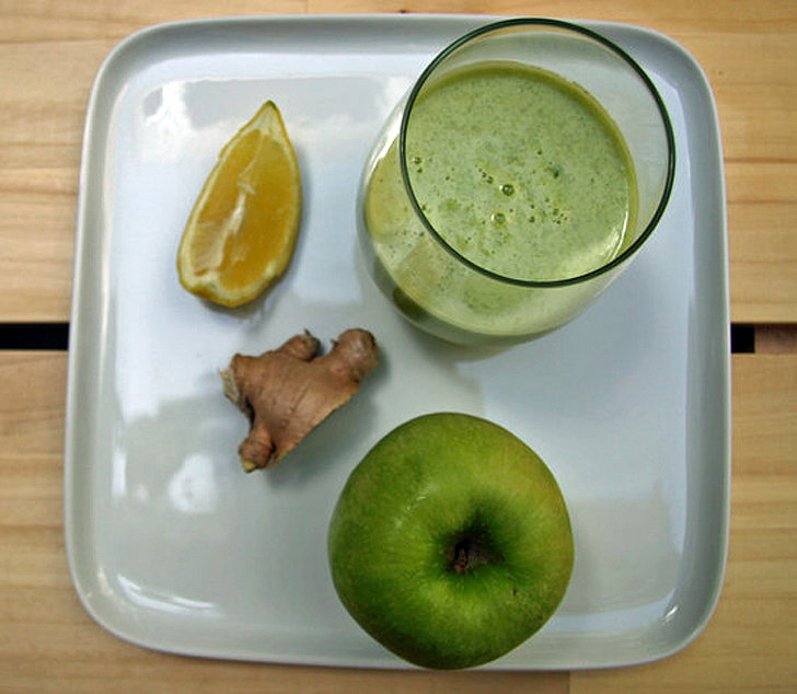 Detoxifying Apple Ginger Juice