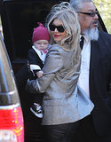 Fergie and Axl Duhamel headed out on Christmas Day.