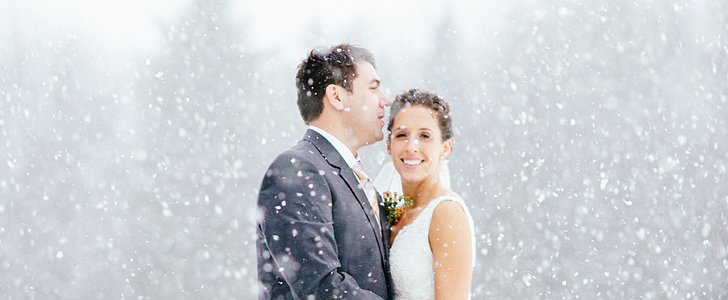 This Mountaintop Winter Wedding Is Downright Stunning