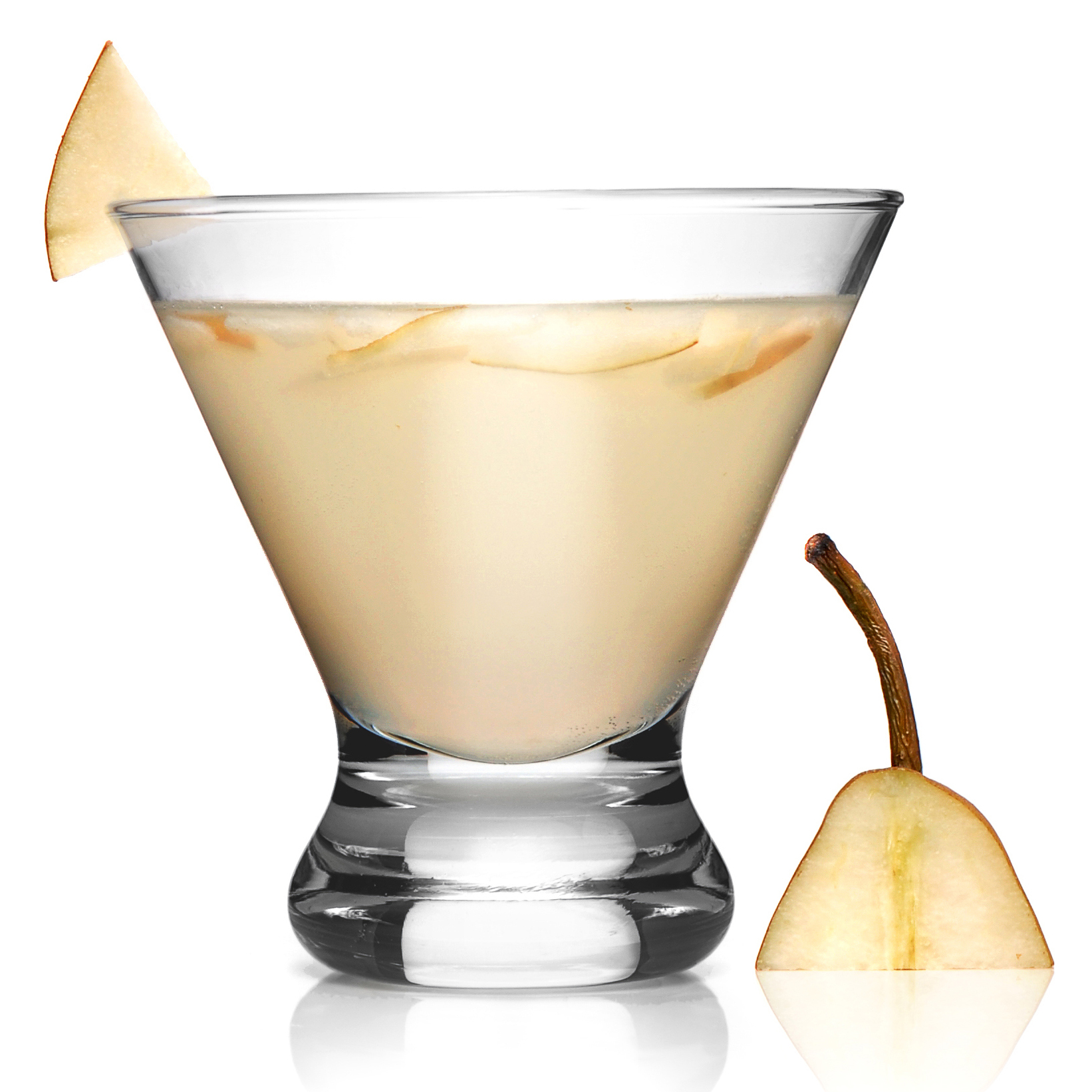 Spicy French Pear Cocktail Recipe — Dishmaps