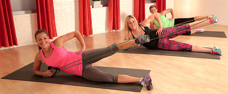 Cardio + Resistance Band = 10-Minute Bootcamp Workout
