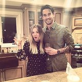 "Kaley Cuoco said she and fiancé Ryan Sweeting ""killed it"" at their first Christmas together. The actress shared this Instagram snap of their holiday fun. Source: Instagram user normancook"