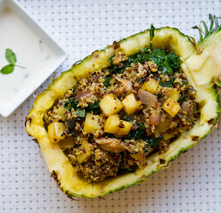 Pineapple Quinoa Boat
