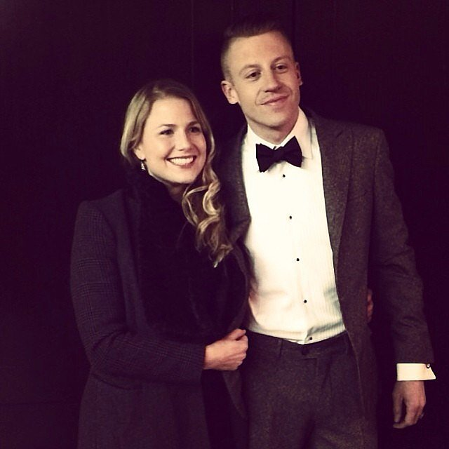 Macklemore spent time with his fiancée, Tricia Davis.  Source: Instagram user macklemore